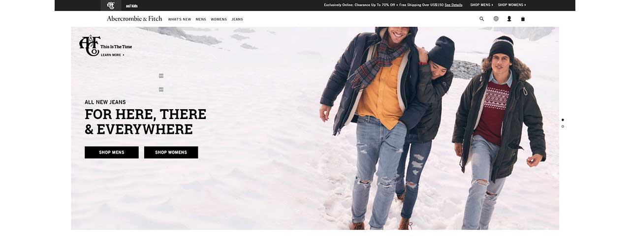 Free web scraper for online store Abercrombie & Fitch