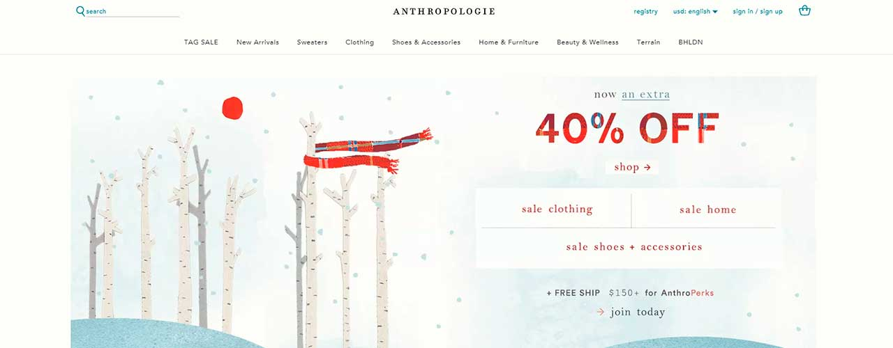Scraping Anthropologie.com and collecting products data