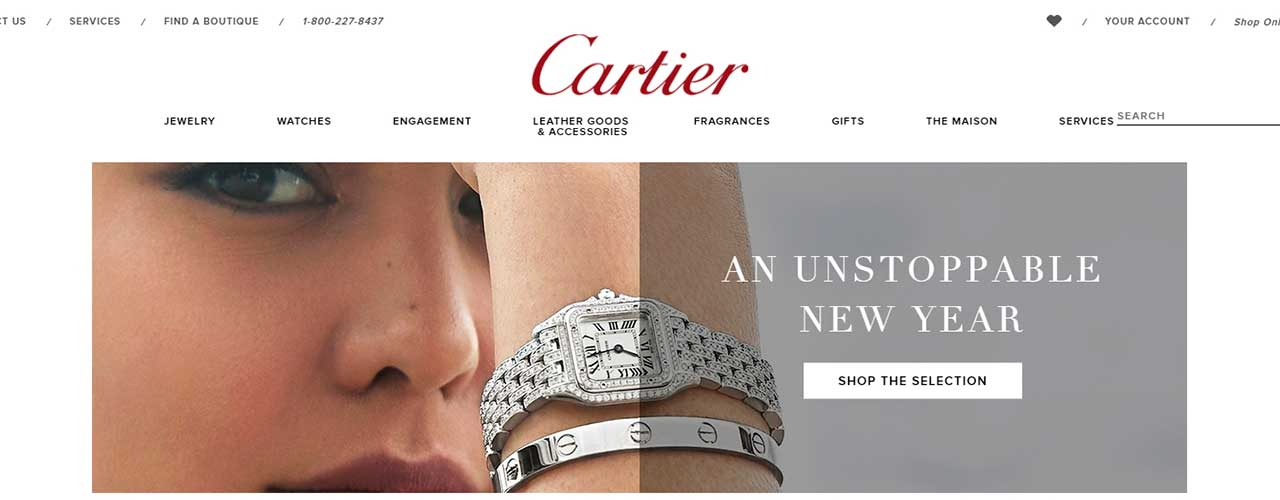 How to scrape product and price information from Cartier website